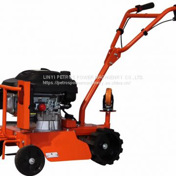 Self-propelled rear-axle drive mini-mowing and weeding machine