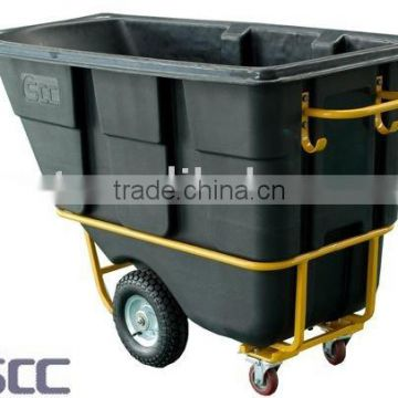 500L Rotomolded Tilt Truck Tilt Cart Garbage Cart