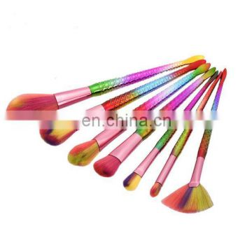 Mermaid Tail Shape Blending Brush Foundation Cosmetic Brush Thread Cosmetic Make Up Flat Mermaid Rainbow Brushes