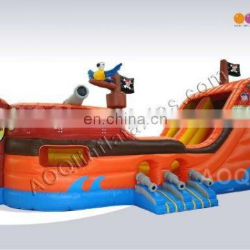 2015 most popular inflatable pirate bouncer/inflatable pirate obstacle