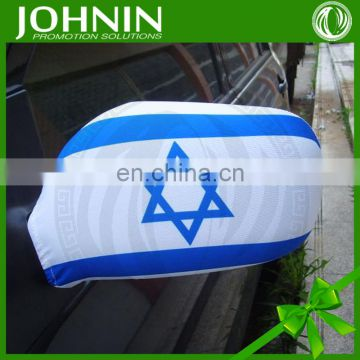 Shortest delivery time decorative new design car mirror flag