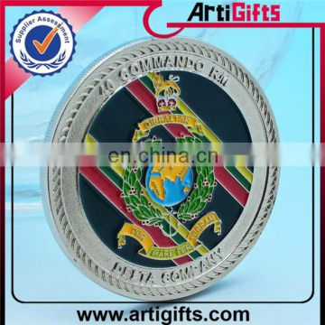 Customized cheap metal silver new fake zinc alloy coin