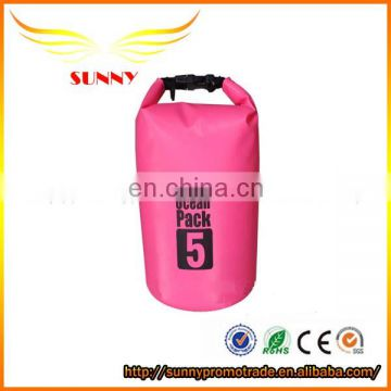 Promotional Waterproof diving Swimming Dry Back Bag