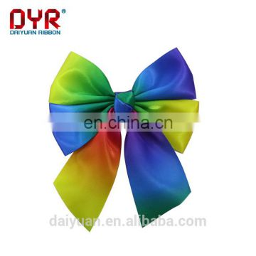 High quality pre-tie satin ribbon bow for gift packaging