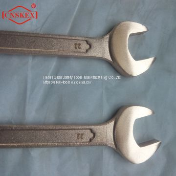 non sparking hand tools aluminum bronze alloy combination wrench spanner