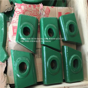 Cavity wear plate high chrome B7150 VSI crusher spare parts apply to  metso barmac VSI