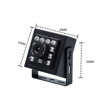 420tvl CCD Indoor Video Surveillance Security Mini Hidden Vehicle Car Camera for Taxi/Car/Bus
