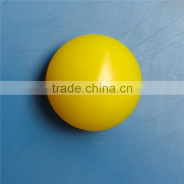 yellow polyurethane ball PU round ball manufacturer china