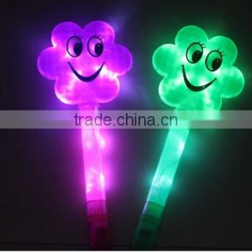 wholesale Cartoon led light sticks concert party LED sticks/ plastic flash stick