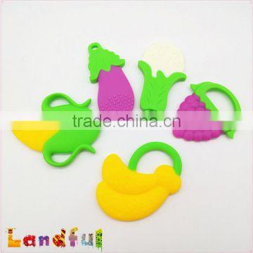 Newborn Baby Soft Silicone Teething Toys BPA Free Seahorse Giraffe Teethers US