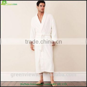 Bathrobe Velvet Robes for men terry shawl style bathroom bathrobes longth night bamboo fabric robes