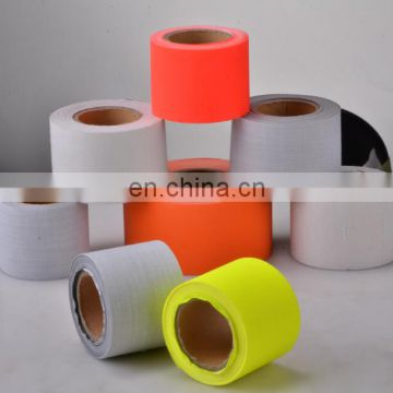 High Visibility Reflective T/C gray Clear Material Fabric Tape