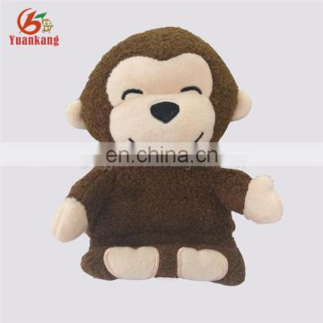 Custom Wholesale Cute Plush Animal Monkey Hand Made Mobile Phone Holder Fashion Soft Stuffed Cell Phone Holder