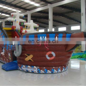 AOQI funny durable factory price inflatable boat inflatable pirate ship