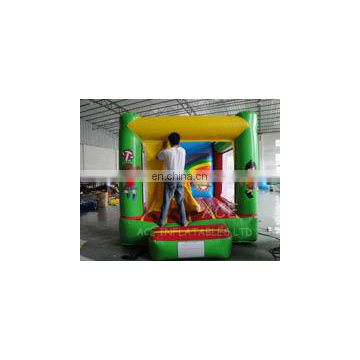 sunshine football theme inflatable bouncer,jumping castle customized with best quality, changeable colors and themes