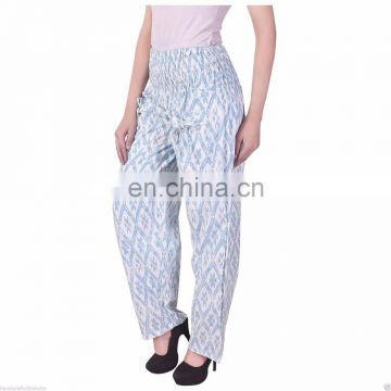 Hand Block Print Pants Printed Boho Gypsy Trousers Iket print pajama 100% cotton