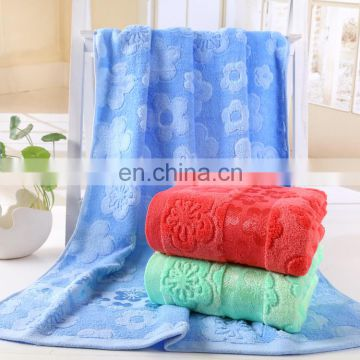 Luxury Jacquard Bright Colored Bamboo Beach Towel