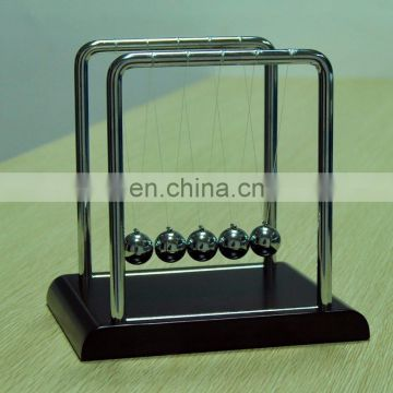 Automatic Cradle Newton Cradle With Wooden Base&Metal Balls