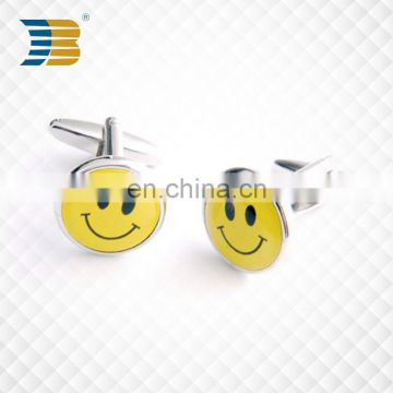 promotional metal gold custom cufflink