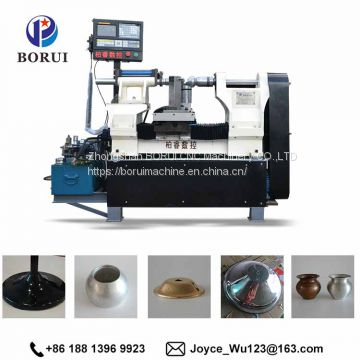 automatic cnc metal spinning lathe machine for sale colored lamp shades