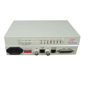 G.703 E1 to V.35 and 10/100BaseT Ethernet converter