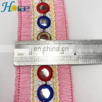 hit160 4.2cm fashion fringe trim lace for garment dress and shoes