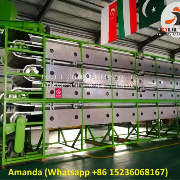 Poultry Farming Automatic Chicken Manure Drying Machine & Automatic Chicken Fowl Dung Drying Machine