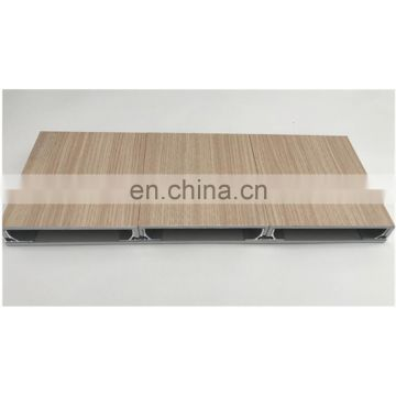Excellent wood grain transfer printing machine for aluminum window