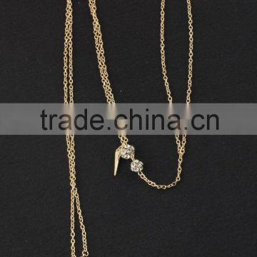 Q60841I01 STYLE PLUS body chains fashion simple design sexy body chain for women