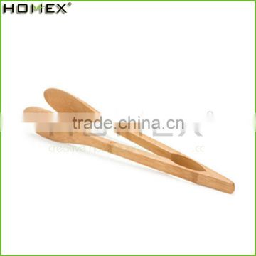 New Products Eco-friendly Bamboo Salad Suger Food Tong, Kitchen Utensils/Homex_Factory