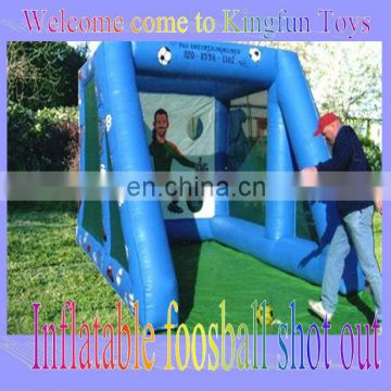 2013 inflatable foosball kick out,soccer sport