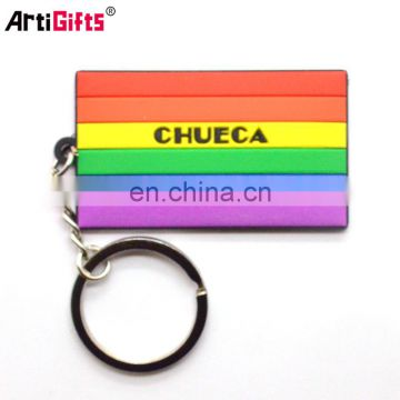 Hot Sale Key Chain Custom Cheap Soft Pvc Rubber Wallet With Keychain