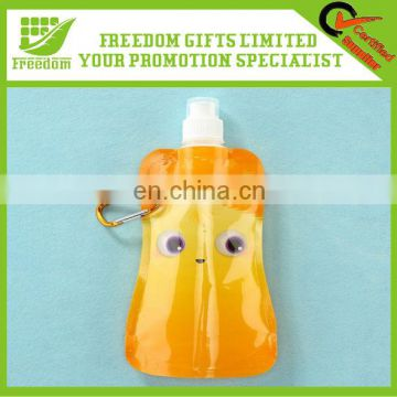 Advertising Good Quality Plastic Folding Water Bottle