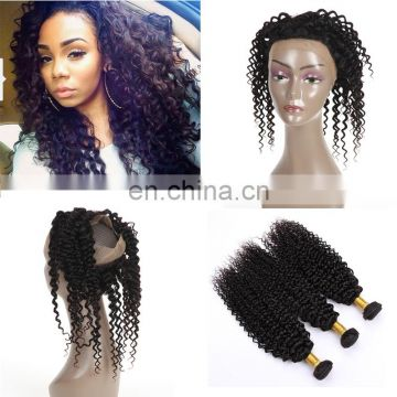 wholesale virgin hair vendors lace frontal with 360 lace band virgin human hair pre plucked 360 Lace Frontal Closure