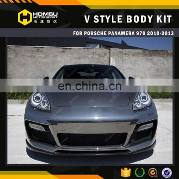 VT style front bumper car tuning auto part body kit for porsch panamera 970 2010-2013