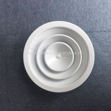 Round Ceiling Diffuser Parts with Damper