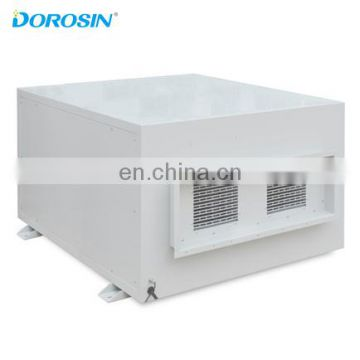 Dorosin 480V/60Hz Industry Ceiling Dehumidifier for factory 240L/Day Intelligent Humidity Controller with Timing Function