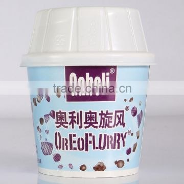 individual ice cream tubs with lids,disposable plastic ice cream sundae cups
