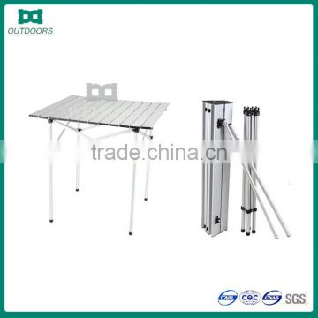 Portable camping aluminum folding table