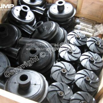 Warman Rubber Slurry Pump Spare Parts of Slurry Pumps from