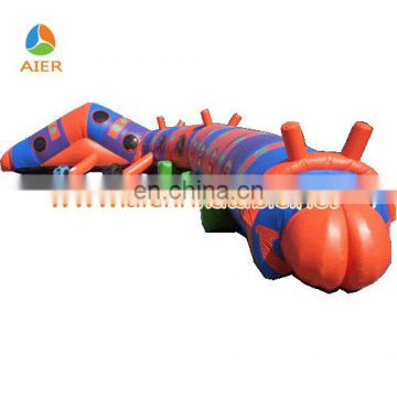 Kids caterpillar tunnel toy,inflatable caterpillar tunnel