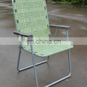 Beach & Camping & Lawn Folding Web Steel Chair One Position avaliable with different web colour