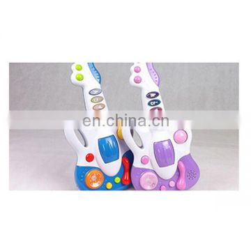 High quality plastic multifunctional musical guitar toy for sale