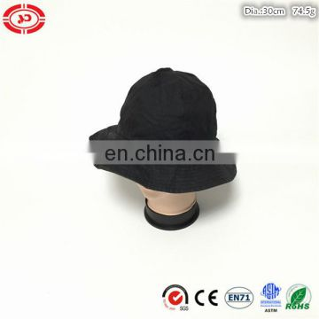 Black new custom soft cotton women fashion summer cap hat