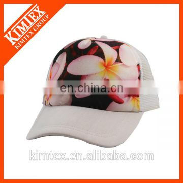 Customized wholesale cheap promotional printing mesh trucker cap