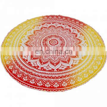 round mandala tapestry indian roundies yoga mat beach topwel