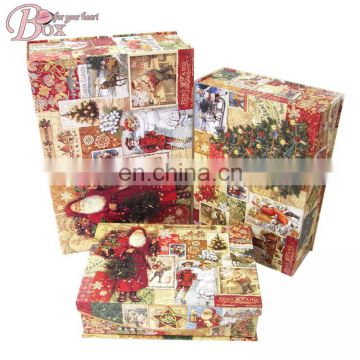 Cardboard Gift Box Packaging Box for Christmas Gift