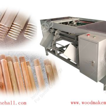 Wood Rod Screwing and End Rounding Machine manufacturer in China
