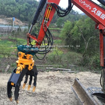Hot Sale Rotatable Stone Grab for Excavator