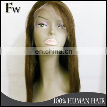 Faceworld human hair wig factory in Qingdao high quaity transparent lace cap pu skin full lace wig